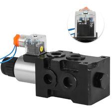 Hydraulic 6 Port Solenoid Diverter Selector Valve 12v 1 Spool 13gpm Hsv6 C