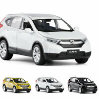 1:32 Honda CRV Model Car Alloy Diecast Toy Vehicle Collection Gift Sound Light