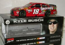 2015 Kyle Busch #18 SKITTLES AUTOGRAPHED 1/24car#479/769 Awesome must have Look