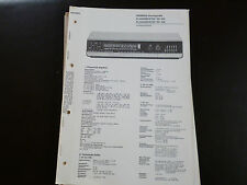 Original Service Manual Siemens Klangmeister RS 304 RS 305