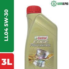 Olio Motore Castrol EDGE Professional LL 04 5W30 3 Litri