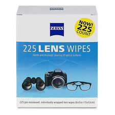 225CT Zeiss Lens Cleaning Wipes Eye Glasses Screen Optical Camera Phone Cleaner