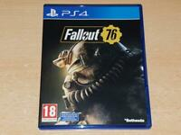 Fallout 76 PS4 Playstation 4 **FREE UK POSTAGE**