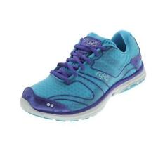 Lace Up Fabric Covered Multi-Colored Women's Athletic Shoes