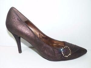 Faith Solo Womens Faithsolo High Heels Court Jewelled Shoe Size Uk 4 Eu 37