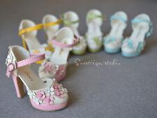 【Tii】High heeled SD16/13 flower Shoes super dollfie 1/3 BJD DD AOD DOD DK DZ