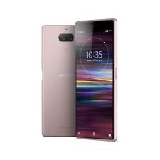"Sony Xperia 10 I4193 64GB Pink 6"" 13+5MP Dual Camera 4K Phone by Fed-ex"
