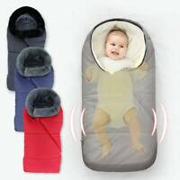 Universal  Footmuff Cosy Toes Buggy Pushchair Stroller Pram Baby Toddler Warm