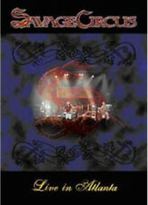 Savage Circus: Live in Atlanta DVD (2010) cert E ***NEW*** Fast and FREE P & P