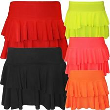 New Ladies Club Wear Mini Rara Skirts 8-14