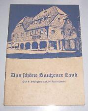 Das schöne Bautzener Land Heft 8 Schirgiswalde, die kleine Stadt 1959 DDR !