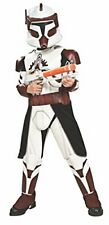 Rubies Star Wars Child's Clone Trooper Deluxe Commander Fox Costume and Mask S