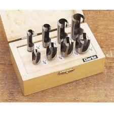 Clarke CHT367 - 8pce Drill Plug Cutter Set 1801367