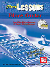 First Lessons Blues Guitar Book and CD