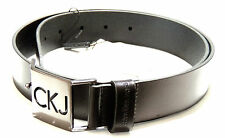 Cintura pelle belt leather CK CALVIN KLEIN JEANS a.C722DS taglia 85 c.999 nero