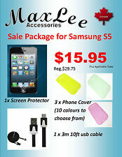 Samsung Galaxy S5 Sale Package -Ships from ON, Canada