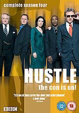 Hustle - Series 4 (DVD, 2008, 2-Disc Set)  FREE POST IN UK