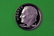 1984-S Deep Cameo Roosevelt Dime US GEM  Proof Coin