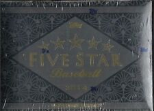 2014 Topps Five Star Factory Sealed Baseball Hobby Box  Mike Trout AUTO ?