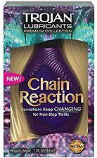 TROJAN Premium Collection Chain Reaction Lubricant 2.7 oz