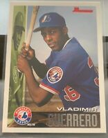 LOT of 4 Vladimir Guerrero Expos Cards Incl. 1995 RC Bowman #90 ROOKIE SHARP 95
