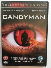 Candyman (DVD, 2008) Collector's Edition, Region 2,4,5, Clive Barker Horror Film