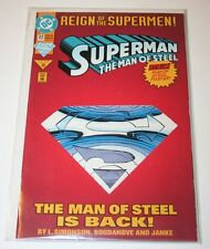 Superman The Man of Steel Comics June 1993 Issue #22 Original Bag Sealed