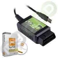 E 327 Diagnose Interface + Carport Software Deutsch Vollversion alle KFZ Marken