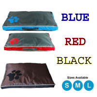 DOUBLE SIDED WATERPROOF DOG PET CAT BED MAT CUSHION MATTRESS WASHABLE COVER DCUK