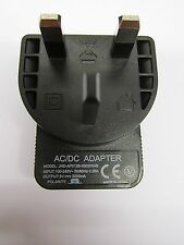 5V 2A 2000mA AC/DC Adaptor Power Supply Charger UK Wall Socket Plug 2 USB Female