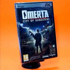 OMERTA' CITY OF GANGSTERS PC Omertà mafia in italiano