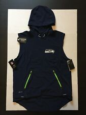 Nike Seattle Seahawks Sideline 2017 Alpha Fly Rush Vest Mens Size XL