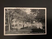 Delta Gamma Sorority House, Denison University Granville Ohio OH Postcard