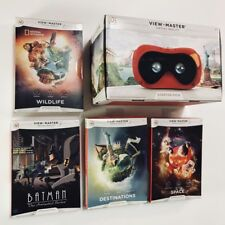 VIEW-MASTER MEGA BUNDLE - VR VIRTUAL REALITY EXPERIENCE STARTER PACK + 4 BONUSES