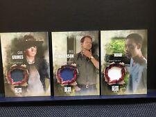 The Walking Dead Season 5 Carl Grimes Pete Anderson Noah Authentic Shirt Relic