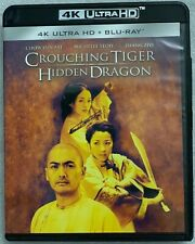 Crouching Tiger Hidden Dragon 4K Ultra Hd Blu Ray 2 Disc Set Free World Shipping