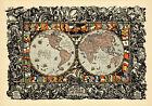 1920+World+Peace+Map+New+National+Boundaries+Wall+Art+Poster+History+Print+11x16