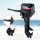 2Stroke 12HP Outboard Motor Marine Boat Engine Long Shaft Water Cooled CDI