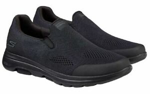 Skechers Men's Go Walk Ultra Go Cushioning Shoes (Black) PREOWNED