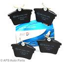 Genuine Allied Nippon Citroen C5 Peugeot 407 607 Rear Brake Pads New