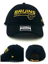 Boston Bruins Hockey Fanatics Pro New Black Gold MA Team Era Adjustable Hat Cap