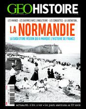 GEO HISTOIRE n°58 - Revue neuve - La NORMANDIE