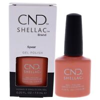Shellac Nail Color - Spear by CND for Women - 0.25 oz Nail Polish