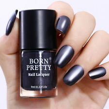 9ml Metallic Nail Polish Mirror Mineral Iron Shiny Effect Varnish BORN PRETTY