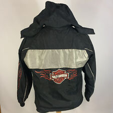 Harley Davidson Motorcycle Reflective Safety Riding Windbreaker Coat Jacket M