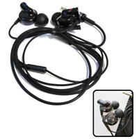 New Black Stereo Headphones for MP3 &iPod, Music Only for LG, SONY,(Audio Only)