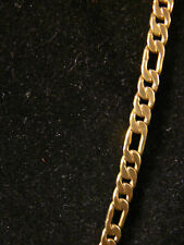 """Men's Figaro  Chain Necklace  4 Kt.Gold   24"""""""