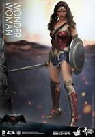 "Wonder Woman Gal Gadot Batman Vs Superman DC Comics MMS359 12"" Figur Hot Toys"