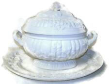 Vintage Mottahedeh Musee des Arts Antique Reproduction Tureen & Underplate