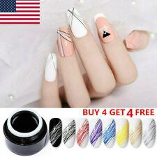 BORN PRETTY 5ml Spider UV Gel Polish Nail Art Pull Line Gel Thick Elastic Gel